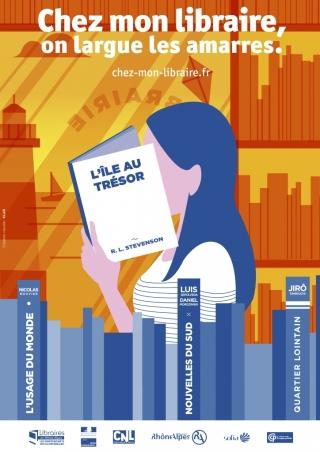 Campagne de communication pour la librairie indépendante